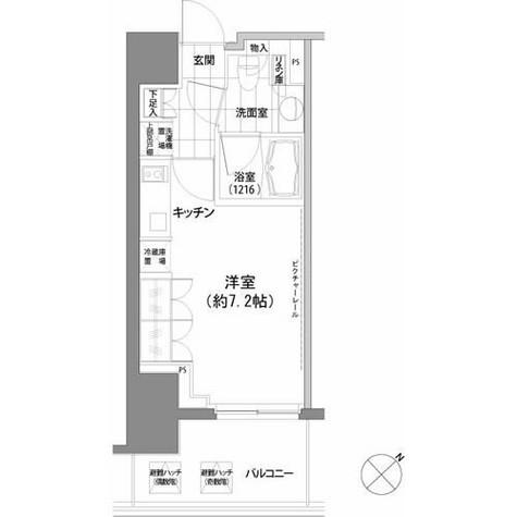 パークハビオ渋谷 / 9階 部屋画像1