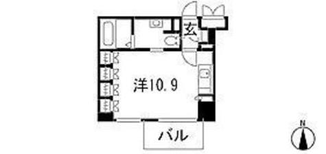 スペーシア新宿 / 1303 部屋画像1