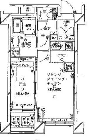 ヴェルト横濱石川町(Welt横濱石川町) / 602 部屋画像1
