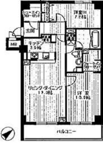 スペーシア恵比寿 / 606 部屋画像1