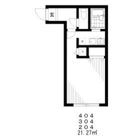 ZESTY小石川(ゼスティ小石川) / 4階 部屋画像1