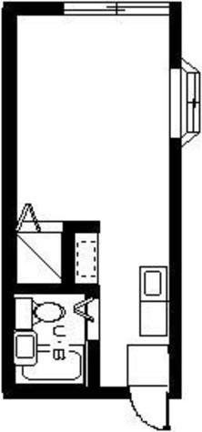 クレセントB / 202 部屋画像1
