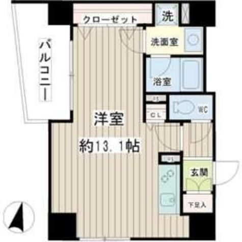 Pearl Court Tsurumi(パールコートツルミ) / 3階 部屋画像1