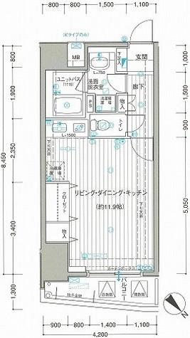サンクレイドル横濱(サンクレイドル横浜) / 312 部屋画像1