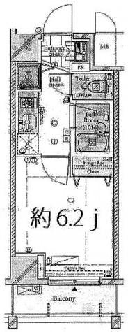 コンシェリア・デュー勝どき / 5階 部屋画像1