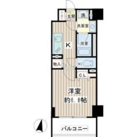 Pearl Court Tsurumi(パールコートツルミ) / 604 部屋画像1