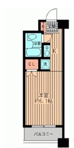 プライムアーバン勝どき(旧アーバンステージ勝どき) / 5階 部屋画像1