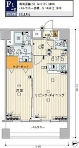 ヴィーダスカイコート品川 / 10階 部屋画像1