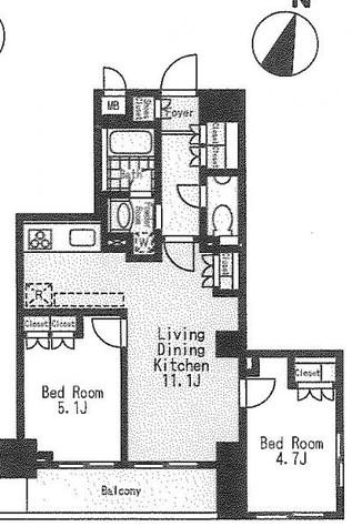 プレミアステージ市ヶ谷河田町 / 7階 部屋画像1
