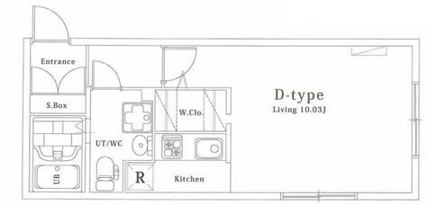 ゼスティ西大井(ZESTY西大井) / 3階 部屋画像1