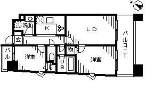 ラフュージュ大井町 / 4階 部屋画像1