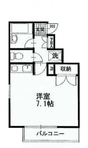 AMNES武蔵小山 / 2階 部屋画像1