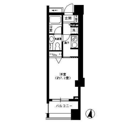 クリオ文京小石川 / 12階 部屋画像1