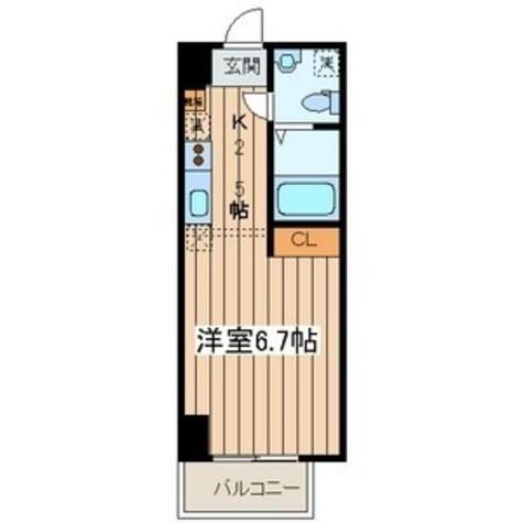 アフィーノ川崎 / 102 部屋画像1