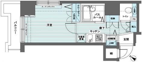 トーシンフェニックス日本橋蛎殻町弐番館 / 8階 部屋画像1