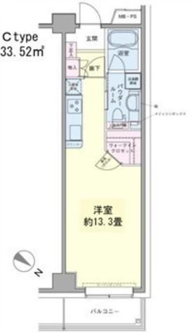 エコロジー豊洲プロセンチュリー / 5階 部屋画像1