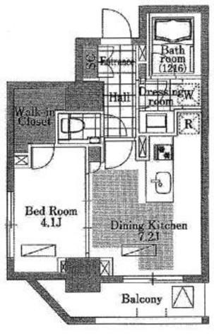 レフィール三田 / 8階 部屋画像1