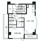 ブレッシング四谷 / 301 部屋画像1