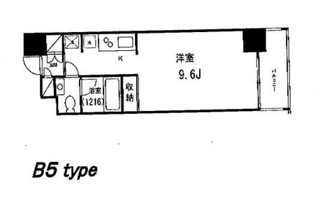 グレンパーク秋葉原イースト / 708 部屋画像1