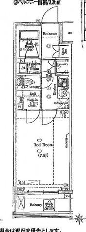 ブレシア新御徒町 / 604 部屋画像1
