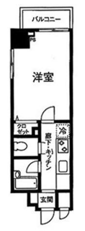 プライムアーバン飯田橋 / 12階 部屋画像1