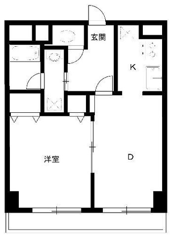 サンアーバン目黒 / 8階 部屋画像1