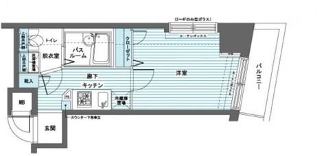トーシンフェニックス日本橋蛎殻町弐番館 / 203 部屋画像1