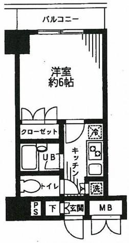 KDXレジデンス日本橋箱崎 / 9階 部屋画像1