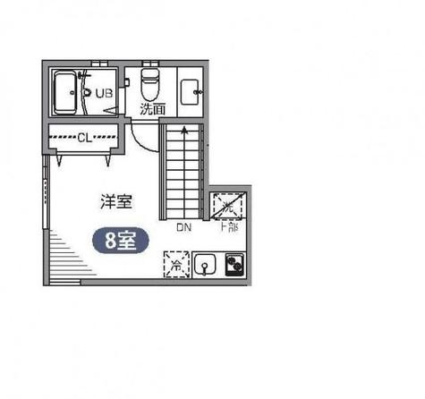 自由が丘 12分アパート / 2階 部屋画像1