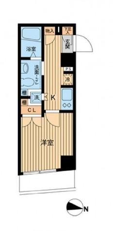 エスティメゾン武蔵小山(旧ジェイフラッツ武蔵小山) / 5階 部屋画像1