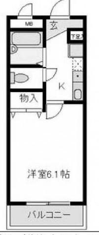 コンフォールU(コンフォールユー) / 2階 部屋画像1