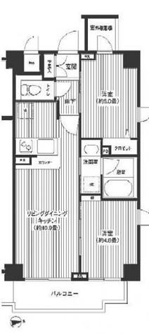 シャンドール目黒 / 506 部屋画像1