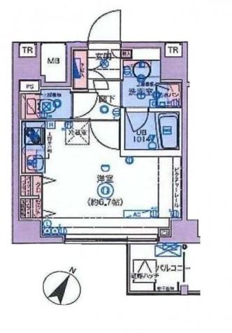 ブライズ東雪谷アジールコート / 6階 部屋画像1