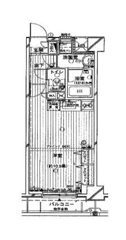 アール・ケープラザ横浜関内ポートサイドヴュー / 8階 部屋画像1