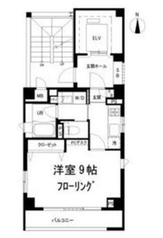 目黒青葉台レジデンス / 3階 部屋画像1