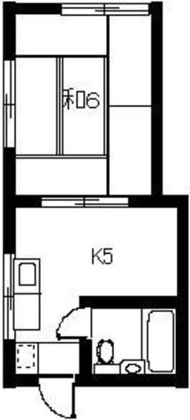 フルハウス / 201 部屋画像1