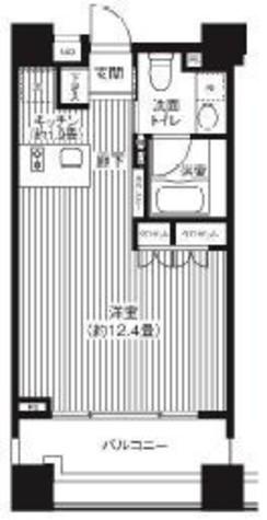 コスモグラシア芝大門 / 6階 部屋画像1