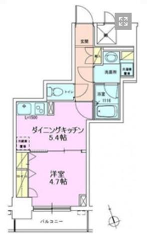 銀座レジデンス伍番館 / 205 部屋画像1