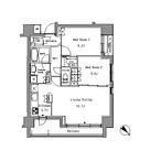 リベルテ月島 / 2階 部屋画像1