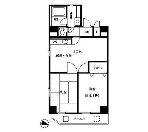 ピュアハイム本田 / 3階 部屋画像1