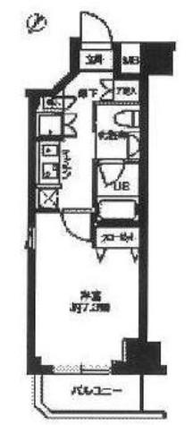 ライジングプレイス石川町 / 508 部屋画像1
