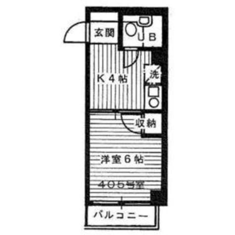 川邉ハイツ / 2階 部屋画像1