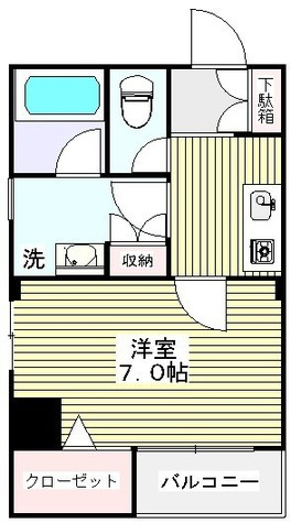ローズマンションミヤハラ / 6階 部屋画像1