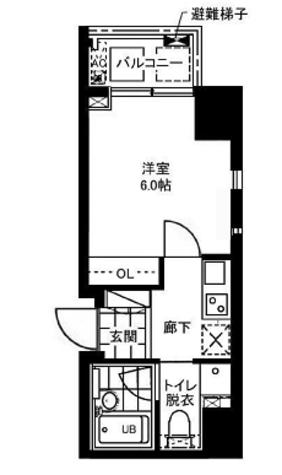 レジディア文京本郷Ⅱ / 2階 部屋画像1