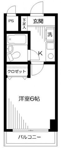 日神パレステージ蒔田 / 4階 部屋画像1