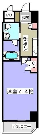 アイル秋葉原NORTH / 704 部屋画像1