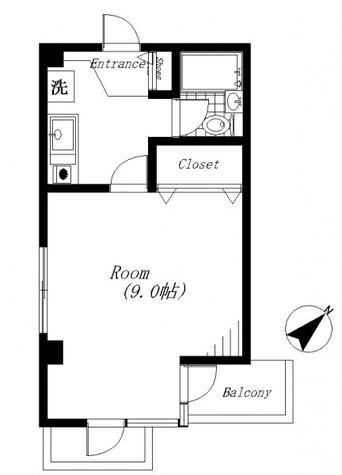 大和ビル / 301 部屋画像1