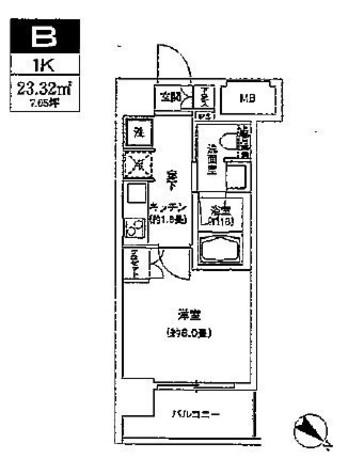 ル メイユ 横浜関内(ルメイユ横浜関内) / 804 部屋画像1