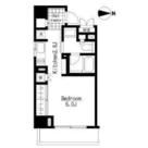 アパートメンツ白金高輪 / 804 部屋画像1