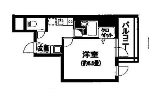 新富町 5分マンション / 5階 部屋画像1